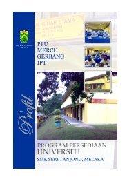 profilppu - Program Persediaan Universiti SMK Seri Tanjong, Melaka