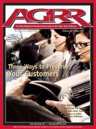 Nov/Dec 2008 - AGRR Magazine