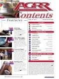 Nov/Dec 2008 - AGRR Magazine - Page 4