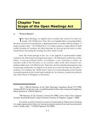 Chapter 2 - Maryland Attorney General