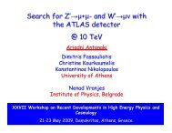 Search for Z'→µ+µ- and W'→µν with the ATLAS detector @ 10 TeV