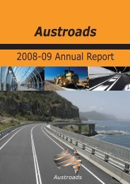 technical committee representatives (as of 30 june 2009) - Austroads