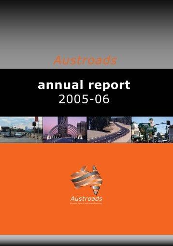Austroads annual report 2005-06