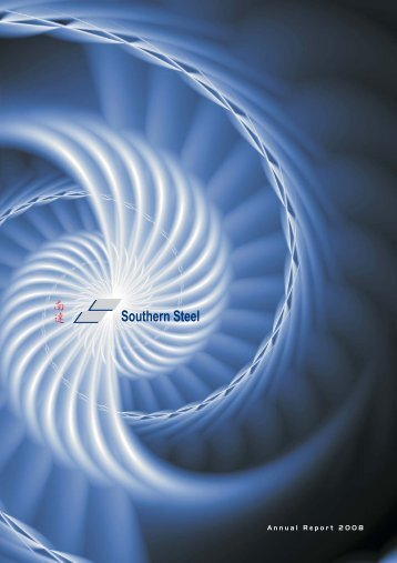 Annual Report 2008 - Southern Steel