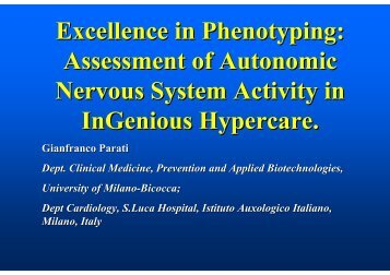 Excellence in Phenotyping - InGenious HyperCare