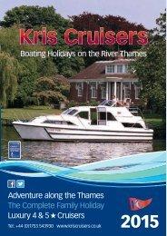 Kris Cruisers 2015 Brochure