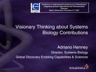 AZ Systems Biology Skills & Capacity Gaps - European Federation ...