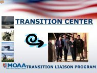 Chapter Transition Liaison Workshop - Military Officers Association ...