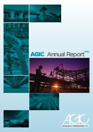 AGIC PROfIlES - Australian Green Infrastructure Council