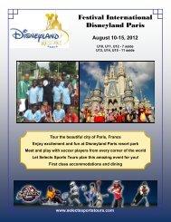 Festival International Disneyland Paris - Selects Sports