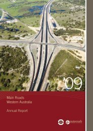 Main Roads Western Australia Annual Report - Parliament of ...