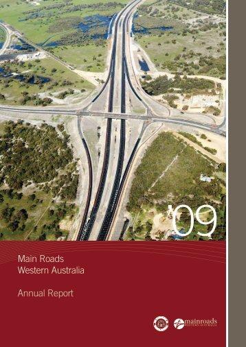 Main Roads Western Australia Annual Report - Parliament of ...