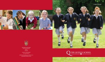 QS Lower School Prospectus AW.indd - The Queen's School