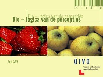 Bio – logica van de percepties - Crioc