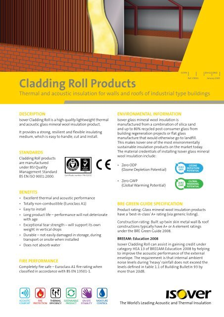 Cladding Roll Products - GRM Insulation Solutions