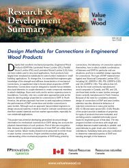 Design Methods for Connections in Engineered Wood Products