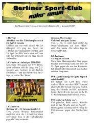 Newsletter 03-1-Mai-2009 - Berliner SC