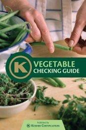 vegetable checking guide - Organized Kashrus Laboratories