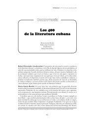 Los 400 de la literatura cubana - Temas