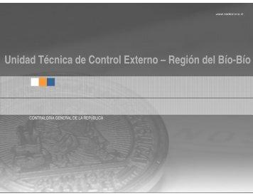Unidad Técnica de Control Externo - Contraloría General de la ...