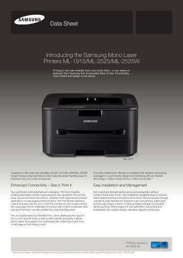 Samsung ML2525W Laser Printer - Hpitechnologies.com