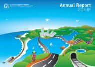 Annual Report 2008-2009 - Department of Transport