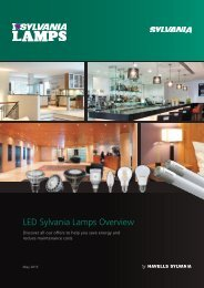 Sylvania Lamps - LED - Brochure - English