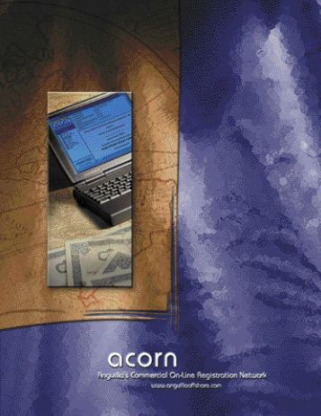 Incorporations are effected immediately, with ACORN providing a ...