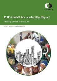 2006 Global Accountability Report
