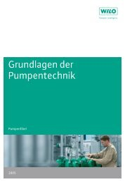 Grundlagen der Pumpentechnik
