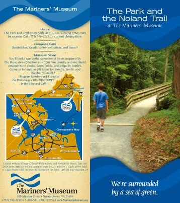 The Park and the Noland Trail - Mariners' Museum