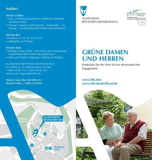 GRünE DAMEn UnD HERREn - AGAPLESION BETHANIEN ...
