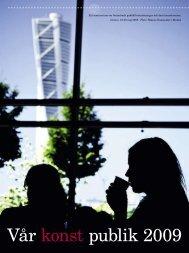 Vår konst publik 2009 - Riksutställningar