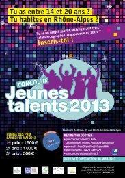 Flyer Concours Jeunes Talents 2013.pdf - Familles de France