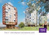 Trinn 3 – unike leiligheter med fantastisk utsikt - Kruse Smith