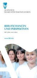 berufschancen und perspektiven - AGAPLESION BETHANIEN ...