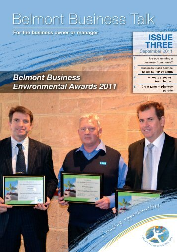 Belmont Business Talk - City Of Belmont
