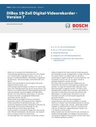 1 - Bosch Security Systems