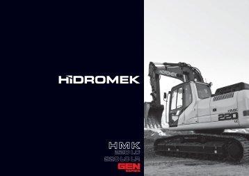 220 LC Gen de la série - Français Catalogue - Hidromek