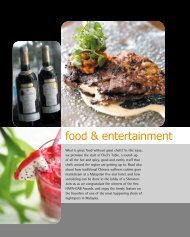 What is great food without great chefs? In this issue, we premiere the ...