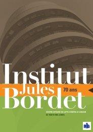 70 ans - Institut Jules Bordet Instituut