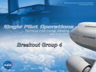 Group 4 Report (PDF) - Human Factors Research and Technology ...