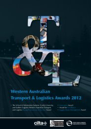 Awards A4 brochure 2012.indd - The Chartered Institute of Logistics ...