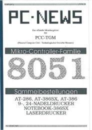 Sammelbestellun en Mikro-Controller-Familie - PCNews