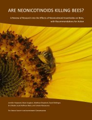 ARE NEONICOTINOIDS KILLING BEES? - The Xerces Society