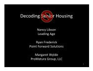 Decoding Senior Housing - National Housing & Rehabilitation ...