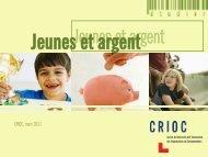 Jeunes et argent - Crioc