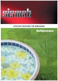 to download catalog belt press... - Sismat A.S.