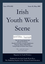 Issue 45: May 2005 - Youth Work Ireland