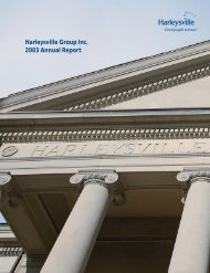 Harleysville Group Inc. 2003 Annual Report - Harleysville Insurance
